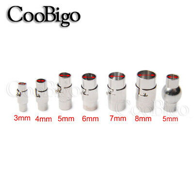 Magnetic Clasp Jewelry Necklace Bracelet Connector Lock Extenders