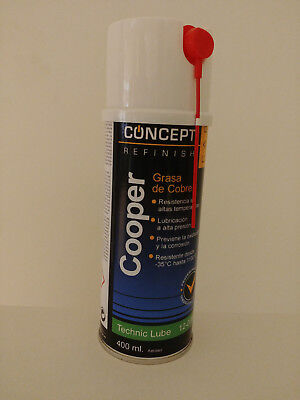 SPRAY GRASA DE COBRE 400ml COOPER CONCEPT CAR REFINISH