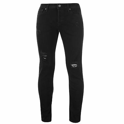 JACK AND JONES Jeans Intelligence Tom Skinny Fit Mens Gents Pants ... 33ece80a56