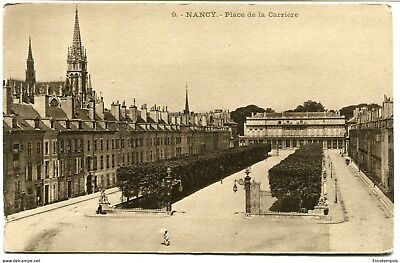 CPA - Carte postale -France -  Nancy - Place de la Carrière (CPV1127)