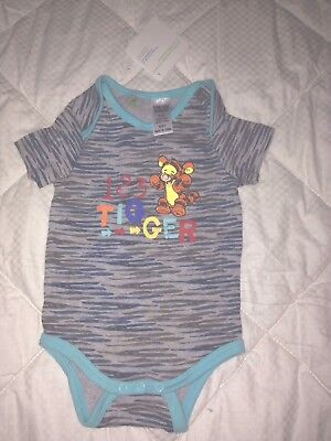 Size 0 Tigger one piece, romper, cover all, pajamas - brand new with tag