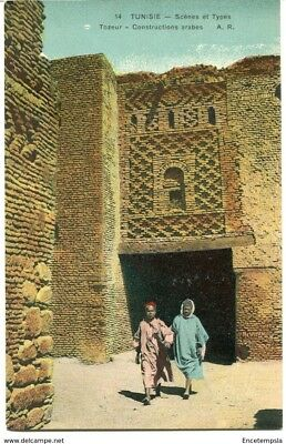 CPA - Carte postale-Tunisie - Tozeur - Constructions arabes (CPV1138)