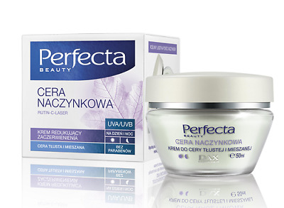 Dax Cosmetics Perfecta Skin Face Cream Reducing Capillary Redness for Mixed Skin