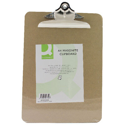 A3 or A4 Masonite Clipboard Heavy Duty Hard Board Warehouse Wooden Clipboards