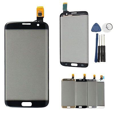 Vetro Front Touch Screen Digitizer Glass Lens per Samsung Galaxy S7 Edge G935