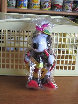 Snoopy / Peanuts Plush Toy  Flying Ace Skiing 6: Tall