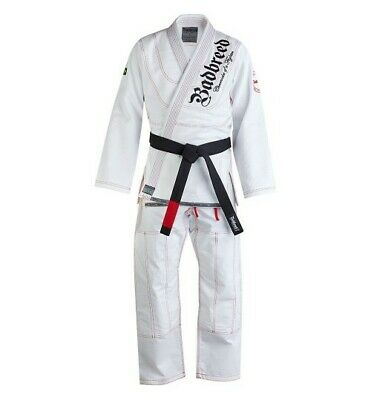 Badbreed Kids Mata Leao BJJ Brazilian Jiu Jitsu Suit Uniform Gi Black or White