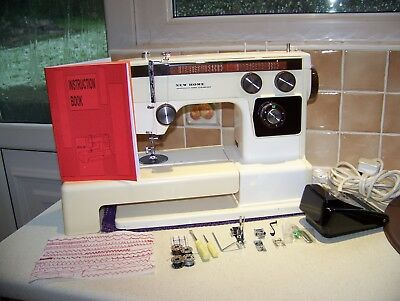 Stunning Japan Janome Newhome Super Streamliner F/arm Heavy Duty Sewing Machine