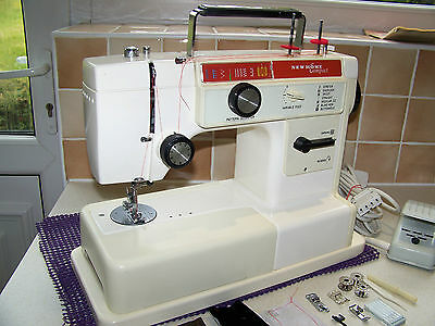 Immaculate Japanese Newhome F/a Compact Semi Industrial Sewing Machine,serviced