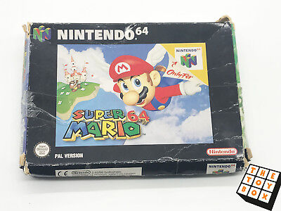 Nintendo 64 N64 Vintage Video Game Super Mario 64 *Box Only*