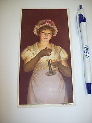 Standard Oil Company CandlesTrade Card - excellent condition