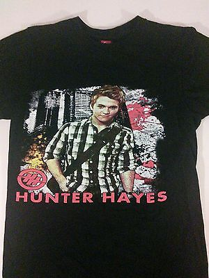 2014 Hunter Hayes We're Not Invisible Tour T-Shirt Country Adult Small Black