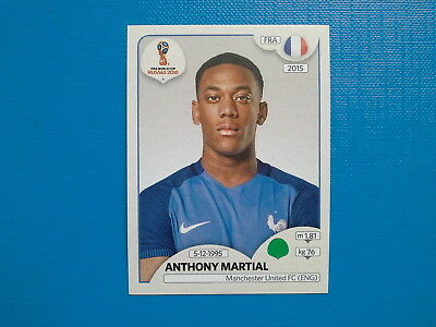 Figurine Panini World Cup Russia 2018 n.211 Anthony Martial France