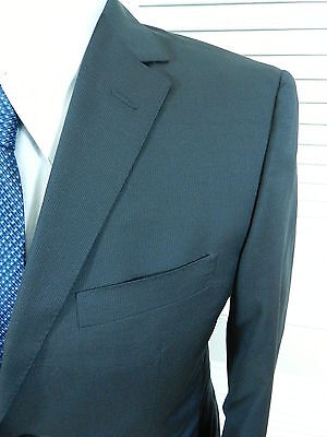NWOT Z ZEGNA Midnight Blue Wool Slubby Velvet Shawl Lapel Tux Dinner ... f496a75b716