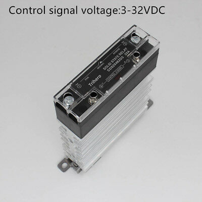 Single Phase Solid State Relay SSR 25A DC 3-32V AC 24-480V