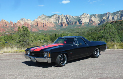 1972 Chevrolet El Camino SS - build sheet 1972 El Camino SS frame-off restoration, 477ci, exceptional paint - more -sweet!