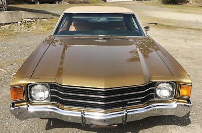 1972 Chevrolet Chevelle Malibu 1972 Chevelle Malibu One owner garage kept survivor as good as it gets 350 4bbl