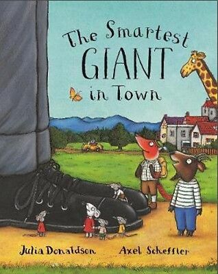The Smartest Giant in Town by Julia Donaldson (Paperback) [NEW]