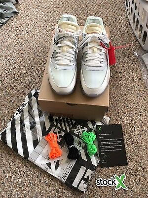 Nike Off-White Air Max 90 The Ten StockX Verified Brand New! Size 11.5 f02f98a6d