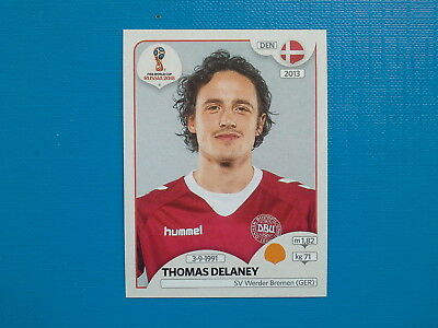 Figurine Panini World Cup Russia 2018 n.264 Thomas Delaney Denmark