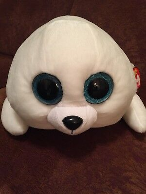 NWT TY BEANIE Boo Icy The Large White Seal -  20.00  7b7c8813ac0