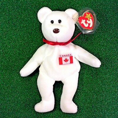NEW Ty Beanie Baby Maple The Bear Retired Plush Toy - MWMT - FREE Shipping 8458f428380