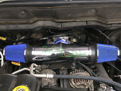 BLUE 2004-2009 DODGE DURANGO 4.7 4.7L 5.7 5.7L HEMI V8 AIR INTAKE KIT