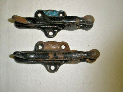 LOT OF ( 2) 1890s Era BREWSTER'S Safety Rein Holder FOR Horse & Buggy Patented