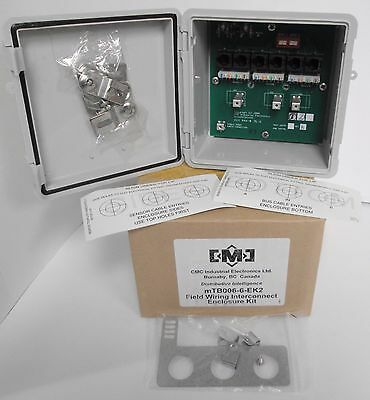 CMC Industrial Electronics mTB006-6-EK2 Field Wiring Interconnect Enclosure Kit