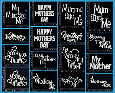 White Chipboard - Mother - Mum - Mothers Day