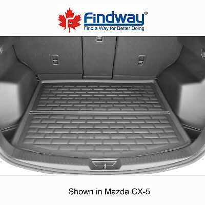Black All Weather 3D Custom Trunk mat / Cargo Liner for 2013-2016 Mazda CX-5