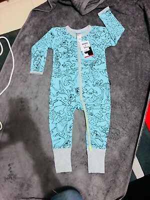 LIMITED EDITION BNWT BONDS DISNEY BAMBI AND THUMPER ZIPPY SIZE 12-18months