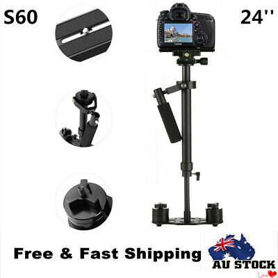 "S60 Handheld Camera Stabilizer 24""/60cm Glidecam with Quick Release Plate"
