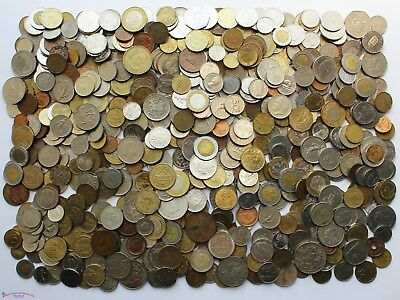 Worldwide Large Coin Lot. 8 Pounds. Lot #2.
