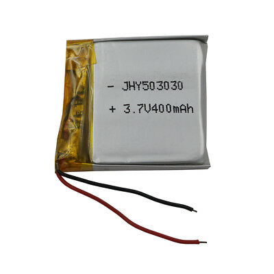 3.7V 400 mAh Polymer Li Lithium Cells For GPS bluetooth headset sat Nav 503030