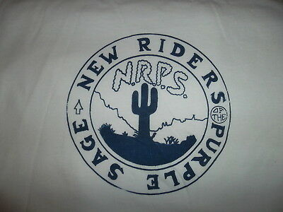 New Riders of the Purple Sage - Classic Oldtime t-shirt iron-on from early 70s