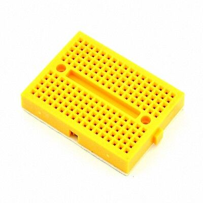 10Pcs Yellow Solderless Prototype Breadboard 170 SYB-170 Tie-points [DORL_A]