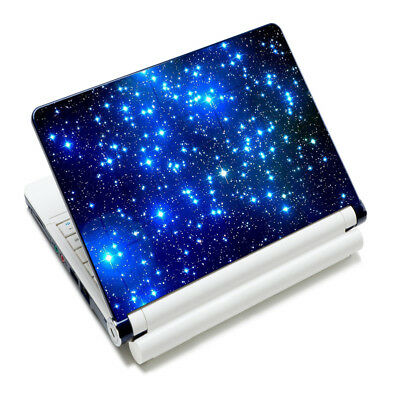 "Decal Sticker Netbook Protector Skin Cover 17 17.3 17.4"" Laptop Galaxy Star AU"