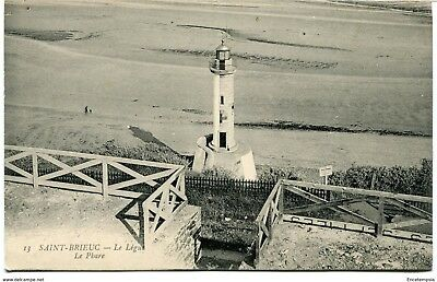CPA -Carte postale-France - Saint Brieuc - Le Légue - Le Phare (CPV1143)