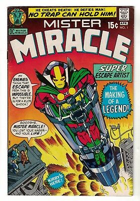 DC COMICS Mister Miracle Mr issue 1 Justice league America FN+ 6.5 1971