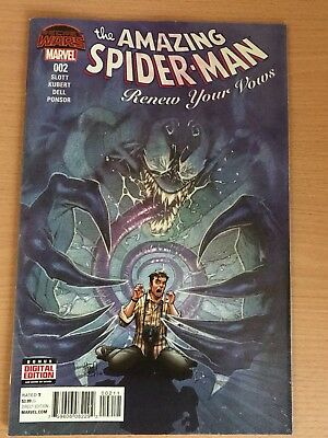 The Amazing Spider-Man Renew Your Vows #2 Marvel comic 1st Print 2015 NM