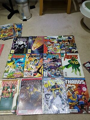 Marvel DC other comics bundle x25 just 7.49 Avengers X-Men Thanos Lobo and more