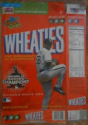 Mark Buehrle Chicago White Sox World Series Wheaties cereal box