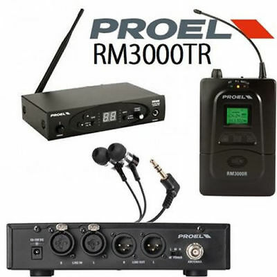 PROEL RM300TR Sistema in ear monitor wireless completo