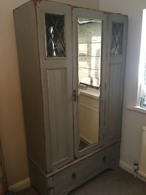 Vintage French Antique Style Wardrobe