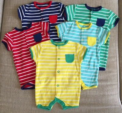 New Next 5 Pack Bodysuits Up To 1 Months