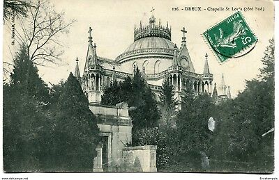 CPA -Carte postale-France - Dreux - Chapelle Saint Louis - 1911 (CP1476)