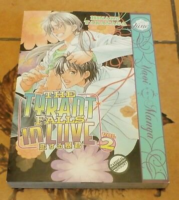 June Yaoi The Tyrant Falls in Love Hinako Takanaga Volume 2 English Manga