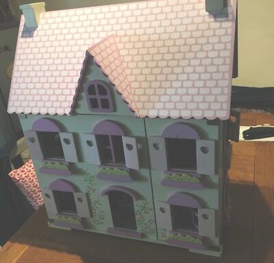 Early Learning Centre Rosebud Village Dolls House With Furniture, Family U0026  Pets