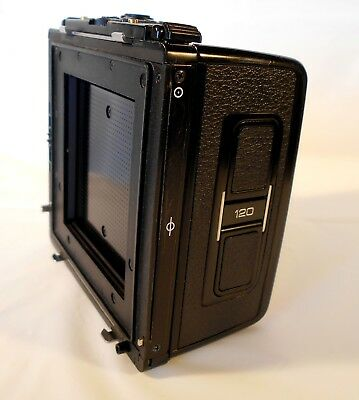 Bronica SQ 120 Back for SQ system *film tested*